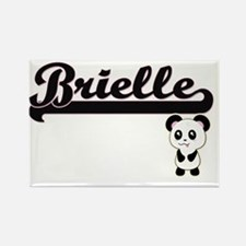 Brielle Classic Retro Name Design with Pan Magnets