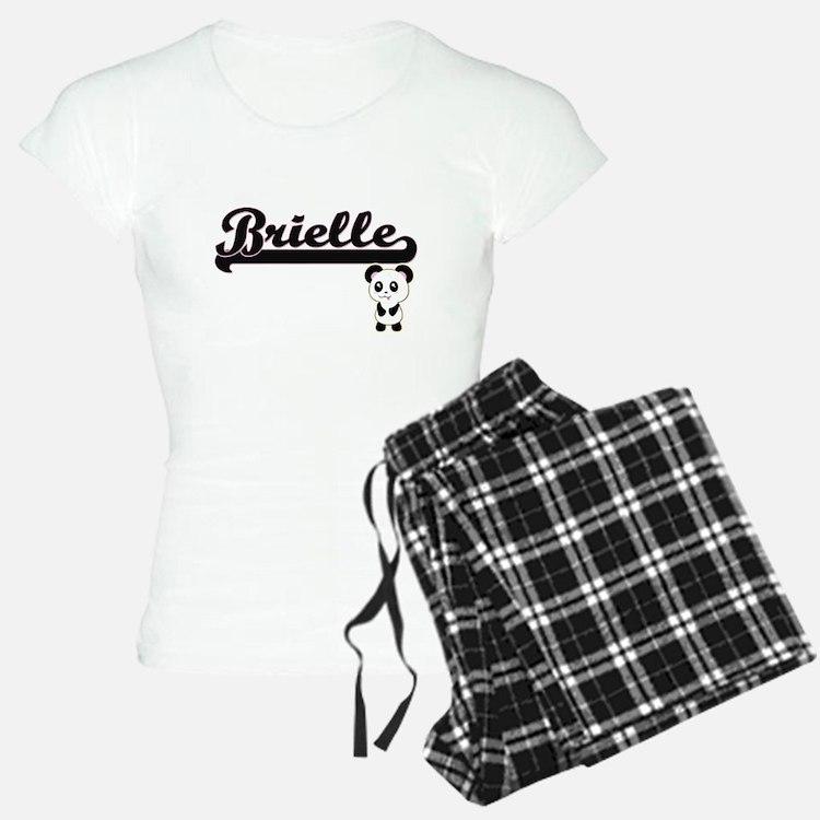 Brielle Classic Retro Name Pajamas