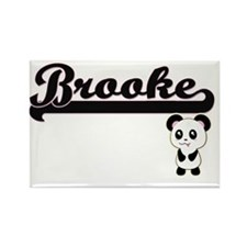 Brooke Classic Retro Name Design with Pand Magnets