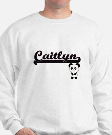 Caitlyn Classic Retro Name Design with Jumper