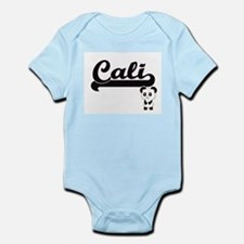 Cali Classic Retro Name Design with Pand Body Suit