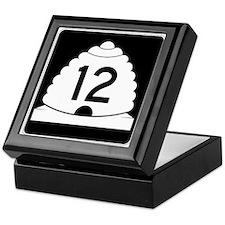 State Route 12, Utah Keepsake Box