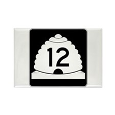 State Route 12, Utah Rectangle Magnet