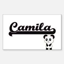 Camila Classic Retro Name Design with Pand Decal