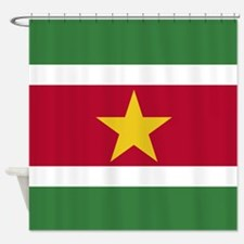 Flag Of Suriname Shower Curtain