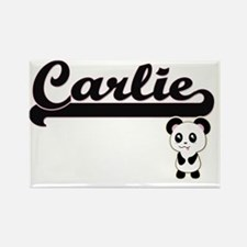Carlie Classic Retro Name Design with Pand Magnets