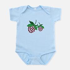 Raspberry Bunch Body Suit