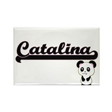 Catalina Classic Retro Name Design with Pa Magnets