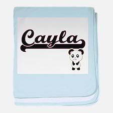 Unique Cayla baby blanket