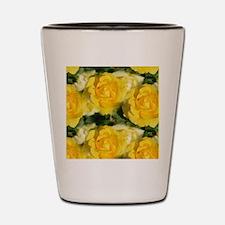 Yellow Roses Shot Glass