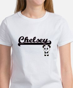 Chelsey Classic Retro Name Design with Pan T-Shirt