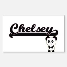 Chelsey Classic Retro Name Design with Pan Decal