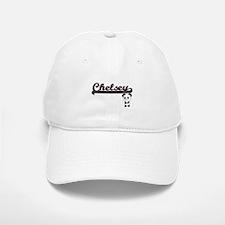 Chelsey Classic Retro Name Design with Panda Baseball Baseball Cap