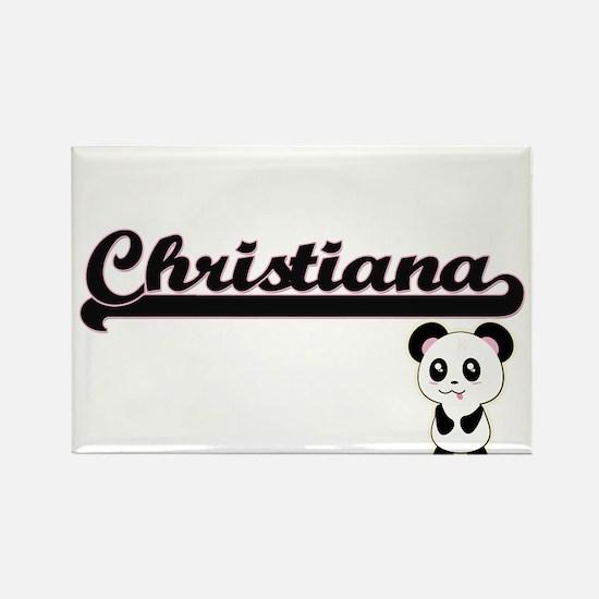 Christiana Classic Retro Name Design with Magnets