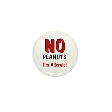Peanut Allergy Mini Button (10 pack)
