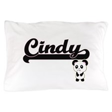 Cindy Classic Retro Name Design with P Pillow Case