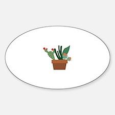 Cactus Pot Decal