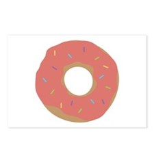 Doughnut with Sprinkles Postcards (Package of 8)