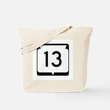 Highway 13, Wisconsin Tote Bag