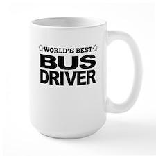 Worlds Best Bus Driver Mugs