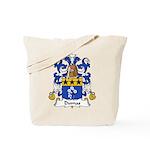 Dumas Family Crest Tote Bag