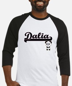 Dalia Classic Retro Name Design wi Baseball Jersey