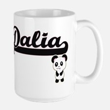 Dalia Classic Retro Name Design with Panda Mugs
