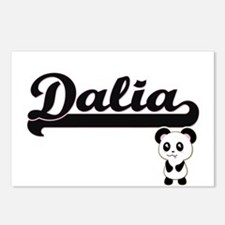 Dalia Classic Retro Name Postcards (Package of 8)