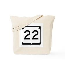 Highway 22, Wisconsin Tote Bag