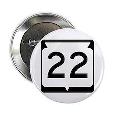 "Highway 22, Wisconsin 2.25"" Button"