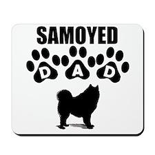 Samoyed Dad Mousepad