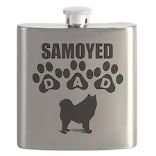 Samoyed Dad Flask