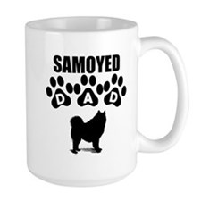 Samoyed Dad Mugs