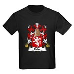 Dulac Family Crest Kids Dark T-Shirt