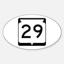 Highway 29, Wisconsin Sticker (Oval)