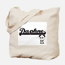 Daphne Classic Retro Name Design with Pan Tote Bag