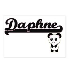 Daphne Classic Retro Name Postcards (Package of 8)