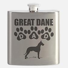 Great Dane Dad Flask