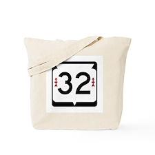 Highway 32, Wisconsin Tote Bag