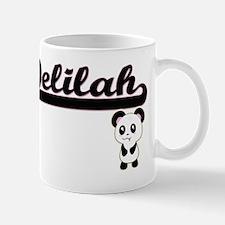 Delilah Classic Retro Name Design with  Mug