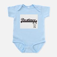 Destinee Classic Retro Name Design with Body Suit