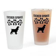 Cocker Spaniel Dad Drinking Glass