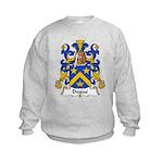 Dugue Family Crest  Kids Sweatshirt