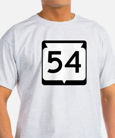 Highway 54, Wisconsin T-Shirt