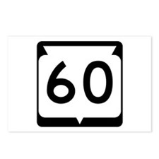 Highway 60, Wisconsin Postcards (Package of 8)
