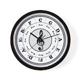 Bass player Wall Clocks