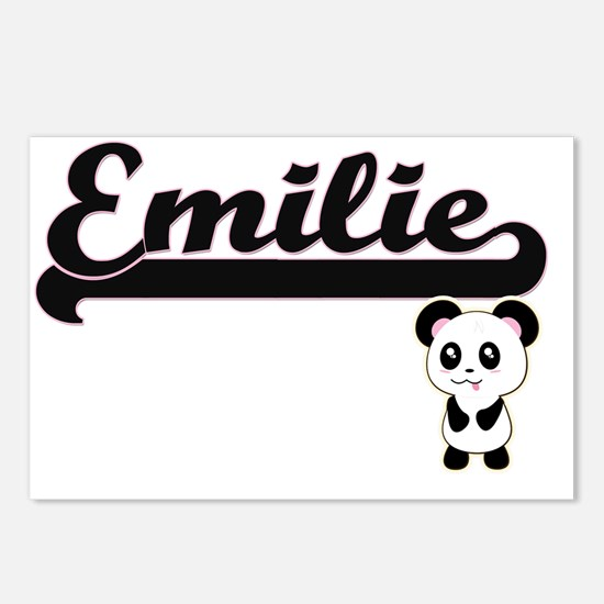 Emilie Classic Retro Name Postcards (Package of 8)