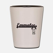 Emmalee Classic Retro Name Design with Shot Glass