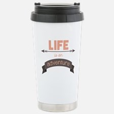 Life Is An Adventure Travel Mug