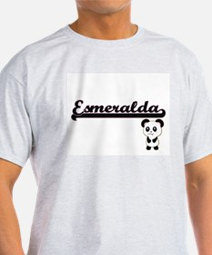 Esmeralda Classic Retro Name Design with P T-Shirt